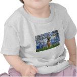Xoloitzcuintle (Xolo) - Lilies 6 T Shirt