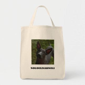Xoloitzcuintli Canvas Bag