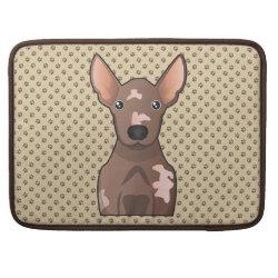 Macbook Pro 15' Flap Sleeve with Xoloitzcuintli Phone Cases design