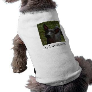 Xoloitzcuintli Pet Shirt