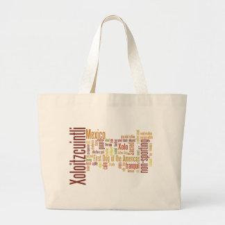Xoloitzcuintli Large Tote Bag