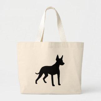 Xoloitzcuintli (Mexican Hairless Dog) Gear Jumbo Tote Bag