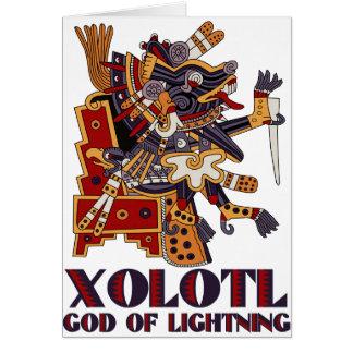 Xolotl Greeting Card