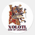 Xolotl Classic Round Sticker