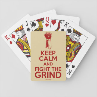 Xom-B Fight The Grind Playing Cards