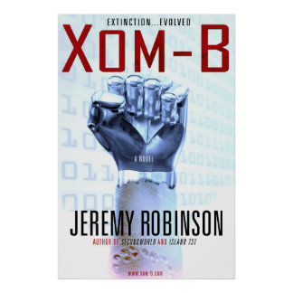 Xom-B - The Novel Cover...as a poster!