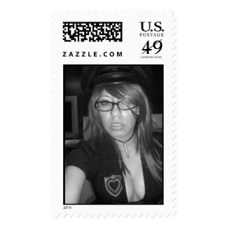 XOMBIE MAIL STAMPS