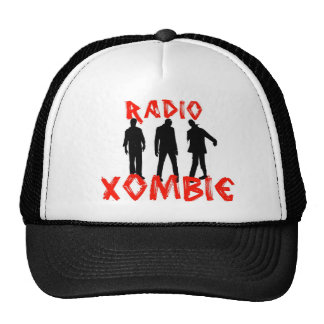 xombie trio trucker hat