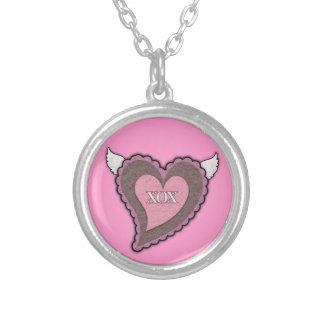 Xox & Heart Necklace