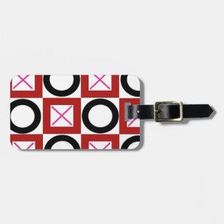 XOX Hugs and Kisses Design Bag Tag
