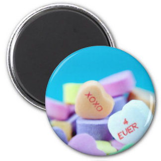XOXO 4 EVER 2 INCH ROUND MAGNET