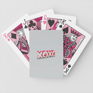 XOXO BICYCLE PLAYING CARDS