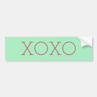 XOXO Bumper Sticker