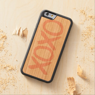 XOXO CARVED® CHERRY iPhone 6 BUMPER CASE