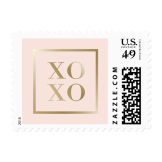 xoxo chic postage stamp