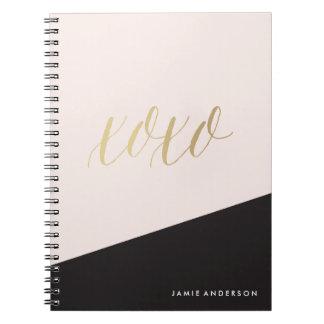 XOXO COLORBLOCK Notebook