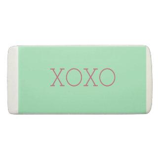 XOXO Eraser