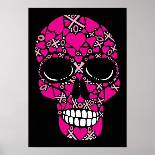 XOXO Forever - Skull Canvas Print