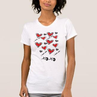 xoxo HEART DESIGN T-Shirt