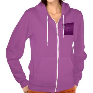 XOXO,hearts,purple (I) Hoodies