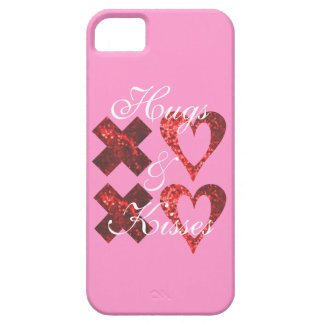 XOXO Hugs and Kisses Fun Design iPhone 5 Cases