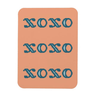 XOXO Hugs and Kisses Magnet