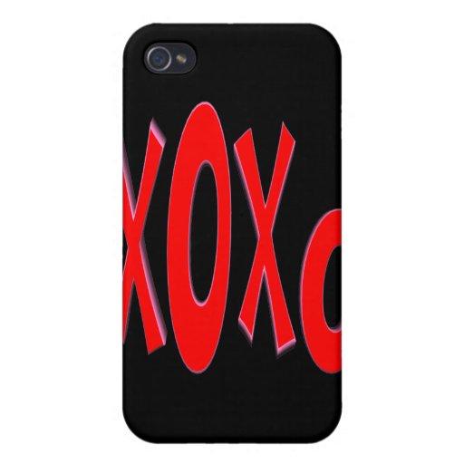 XOXO iPhone 4/4S FUNDA