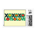 XOXO Lots of Love Postage