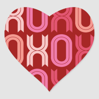 XOXO Love And Kisses Valentine's Day Stickers