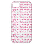 XOXO Love Happy Valentine's Day Pink Red Gifts Cover For iPhone 5C