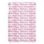 XOXO Love Happy Valentine's Day Pink Red Gifts iPad Mini Cover