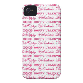 XOXO Love Happy Valentine's Day Pink Red Gifts iPhone 4 Cover