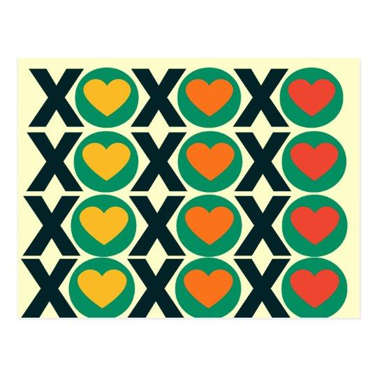 XOXO Love Postcard