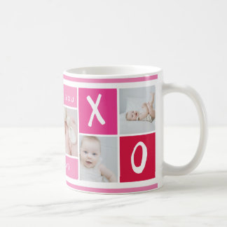 XOXO Photo Collage | Mug