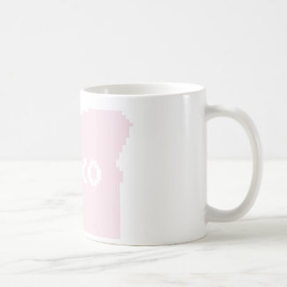 xoxo pink oregon coffee mug