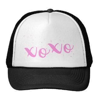 xoxo-Pink Trendy Trucker Hat
