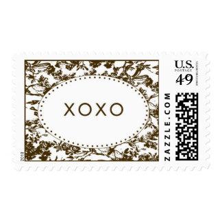 xoxo postage stamps