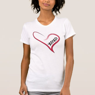 xoxo!  Red Heart with a Custom Message! T-Shirt