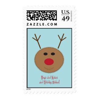 XOXO Reindeer Stamp