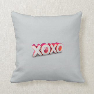 XOXO THROW PILLOWS