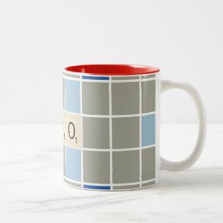 XOXO Two-Tone COFFEE MUG