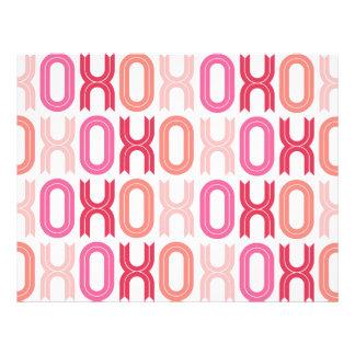 XOXO Valentine Party Decor Craft Paper Set 05