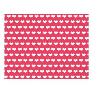 XOXO Valentine Party Decor Craft Paper Set 06 Flyer Design