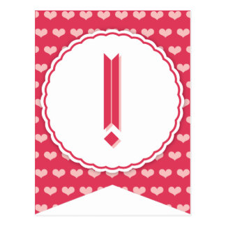 XOXO Valentine Party Flag Bunting Banner ! Post Cards