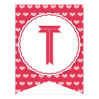 XOXO Valentine Party Flag Bunting Banner T Post Cards