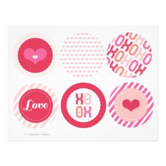 XOXO Valentine Party Garlands Banner Decor Set Flyer