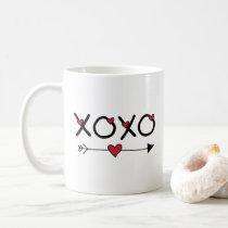 XOXO Valentines Coffee Mug