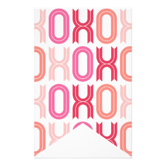 XOXO Valentine's Day Party Decor Bunting Banners Flyer Design