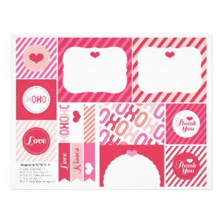 XOXO Valentine's Day Sweet Party Decoration Set 01 Custom Flyer