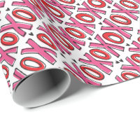 XOXO Valentine's Day Wrapping Paper